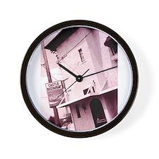 Castle Restaurant Wall Clock