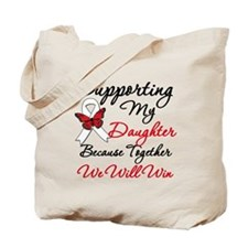 Cancer Support Daughter Tote Bag