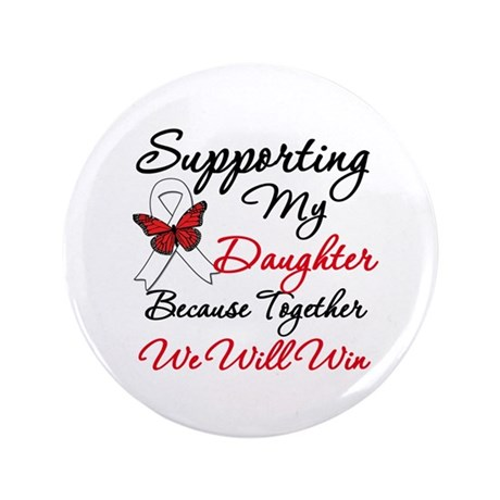 "Cancer Support Daughter 3.5"" Button"