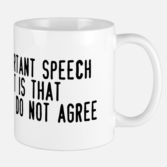 First Amendment Mug