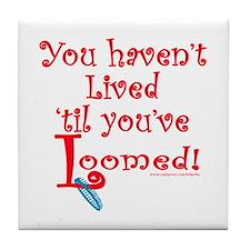Living Loom Knitting Tile Coaster