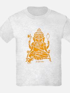 Jai Ganesh (Orange) T-Shirt