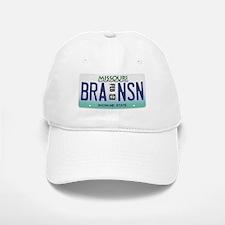 Branson License Plate Baseball Baseball Cap