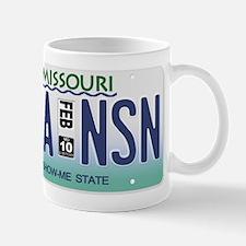 Branson License Plate Mug