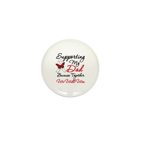 Cancer Support Dad Mini Button (10 pack)