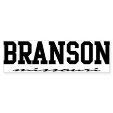 Branson, Missouri Bumper Car Sticker