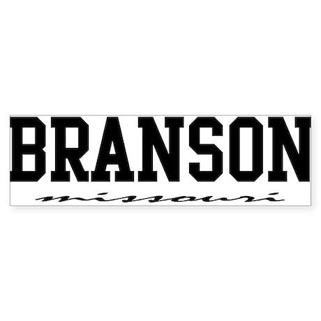 Branson, Missouri Bumper Sticker