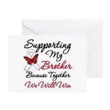 Cancer Support Brother Greeting Card