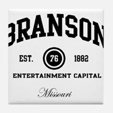 Branson, Missouri - Live Ente Tile Coaster