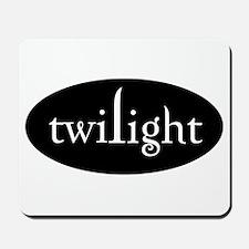 White Twilight Mousepad