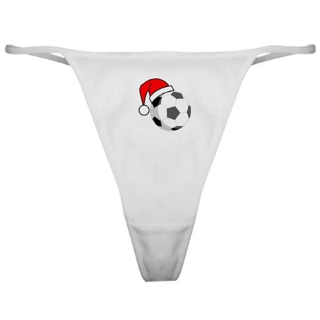 Soccer Greetings Classic Thong