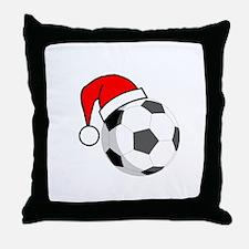 Soccer Greetings Throw Pillow