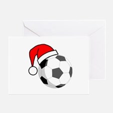 Soccer Greetings Greeting Card