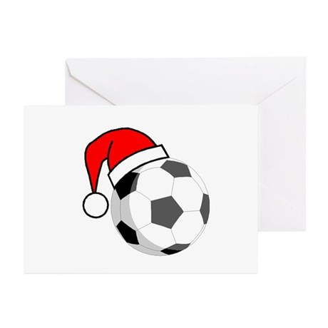 Soccer Greetings Greeting Cards (Pk of 10)