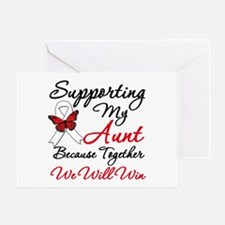 Lung Cancer Support Greeting Card
