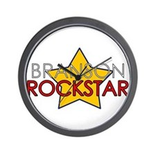Branson Rockstar Wall Clock