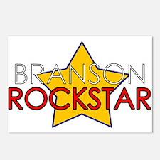Branson Rockstar Postcards (Package of 8)