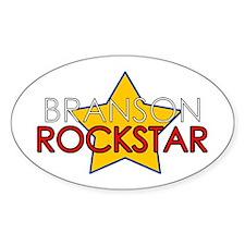 Branson Rockstar Oval Decal