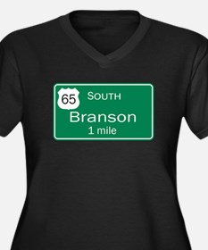 65 South to Branson, Missouri Women's Plus Size V-