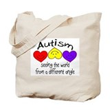 Autism awareness Totes & Shopping Bags