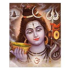 Shiva Ratri Unframed Print