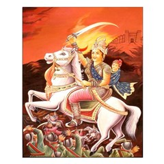 Jhansi Rebel Queen Unframed Print