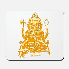 Jai Ganesh (Orange) Mousepad