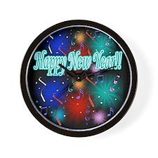 Happy New Year!! Wall Clock