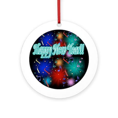 Happy New Year!! Ornament (Round)