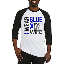 I Wear Blue Wife Baseball Jersey
