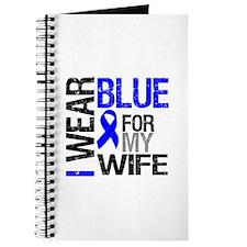 I Wear Blue Wife Journal
