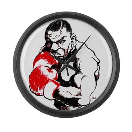 Iron Mike Large Wall Clock