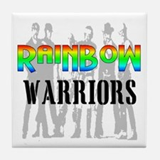 'RAINBOW WARRIORS Tile Coaster