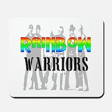 'RAINBOW WARRIORS Mousepad