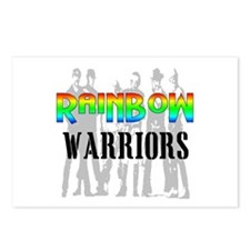 'RAINBOW WARRIORS Postcards (Package of 8)