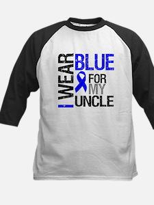 I Wear Blue Uncle Tee