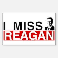 I Miss Reagan Rectangle Sticker 10 pk)