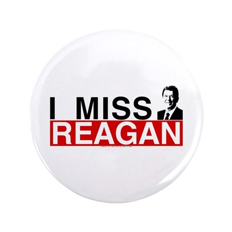 """I Miss Reagan 3.5"""" Button (100 pack)"""