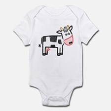 Cute Moo Cow Infant Bodysuit