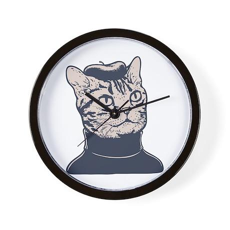 Sophisti-Cat Wall Clock
