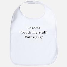 OCD Touch my stuff Bib