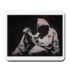 Banksy Hoody Mousepad