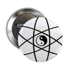 "Ying Yang 2.25"" Button (10 pack)"