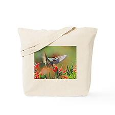 Hummingbird Sip Tote Bag
