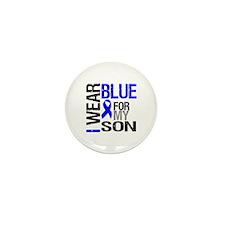 I Wear Blue Son Mini Button (10 pack)