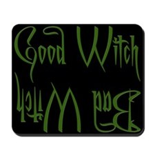 Good Witch/Bad Witch Mousepad