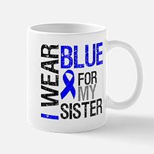 I Wear Blue Sister Mug