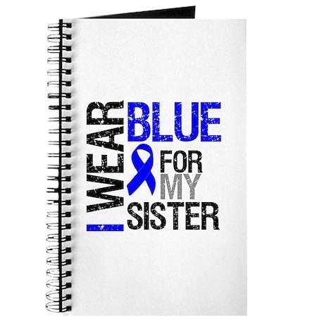 I Wear Blue Sister Journal