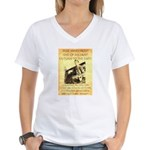 Robert Ford Women's V-Neck T-Shirt
