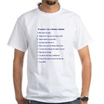 Top ten reasons distance swim White T-Shirt